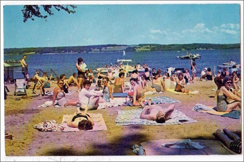 Bathing Beach, Chautauqua NYCaroga Lake NY