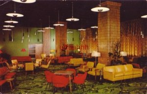 MAIN LOBBY Y.M.C.A. HOTEL for Men, Women, Families CHICAGO, IL 1957