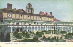 italy, NAPOLI NAPLES, Certosa di S. Martino (ca. 1899)