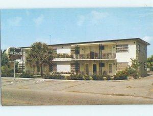 Pre-1980 APARTMENT MOTEL SCENE Fort Lauderdale Florida FL AE2538