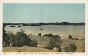 Fairy Lake from Highway 60 - Huntsville, Muskoka, Ontario, Canada - WB