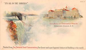 Shredded Wheat, Niagra Falls NY USA Advertising Unused