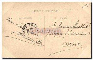 Postcard Old Saint Flour Vue Generale of the Train Station