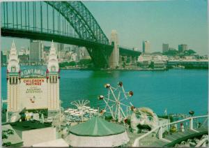 Luna Park Sydney Australia Postcard D59