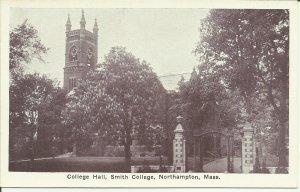 Northampton, Mass., College Hall, Smith College