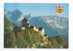 Liechtenstein, Castle of Vaduz, Coat of arms, 70-80s