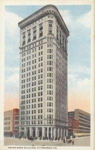 PITTSBURGH , Pennsylvania, 1900-10s; Union Bank Building