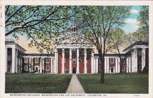 Virginia Lexington Washington Building Washington And Lee University
