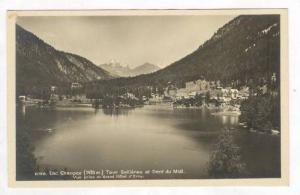 RP  Lac de Champex , Tour Sallieres et Dent du Midi, Valais, Switzerland, 1920s