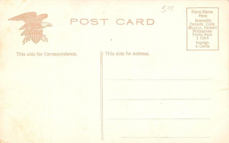 Hartford Connecticut~Luna Amusement Park~Ball Room Close Up~1910 IPCC Postcard