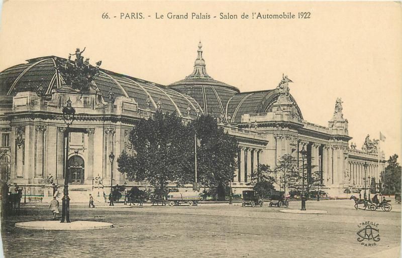 CPA France Paris Salon de l`Automobile 1922
