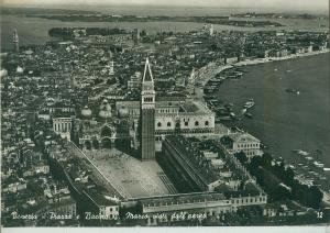 Venice, Venezia, Piazza e Bacino S. Marco, visiti dell'aereo