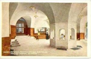 Rotunda, Manitou Springs Bath House, Manitou Springs, Colorado, 1900-1910s