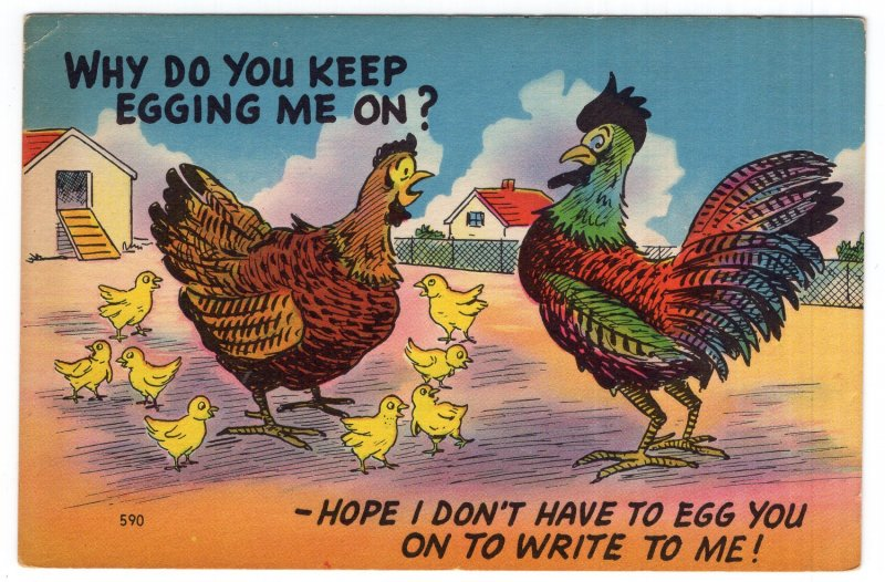 Why Do You Keep Egging Me On?