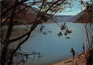 BR1416 France Jura Le Lac de Sylans panorama