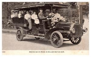 Connecticut Savin Rock ,Miller Motor Tourist cab