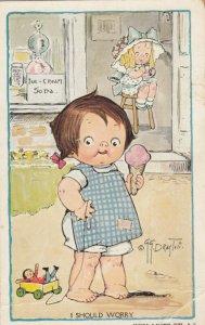 Viola Grace Gebbie Wiederseim Drayton; Child eating Ice Cream , 00-10s