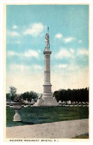 Rhode Island Bristol ,   Soldier's Monument
