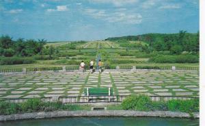International Peace Garden, Manitoba Border, North Dakota,40-60s