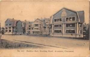 Cincinnati Ohio~Avondale~Haddon Hall @ Reading Road~Homes~1908 Colored Pc