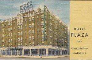 CAMDEN , New Jersey , 1930-40s ; Hotel Plaza : #2