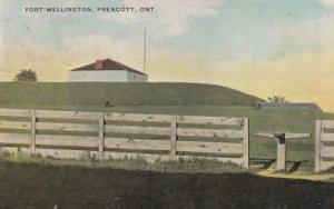 PRESCOTT, Ontario, Canada, 1900-10s; Fort Wellington