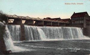Rideau Falls, Ottawa, Ontario, Canada, Early Postcard, Used in 1910