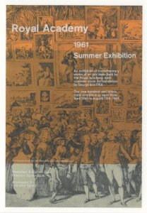 Pierro Martini Johann Ramberg Painting RA Art 1961 Exhibition Postcard
