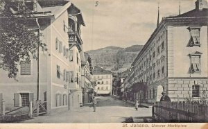 ST JOHANN im PONGAU AUSTRIA~UNTERER MARKTPLATZ~ PHOTO POSTCARD