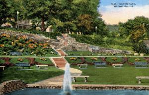 GA - Macon. Washington Park