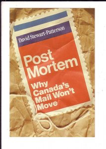 Post Mortem, Canada's Mail Won't, David Stewart-Patterson Advertising Postcard,
