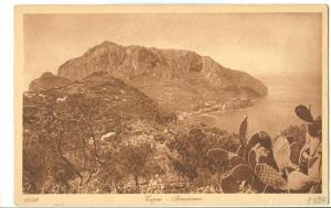 Italy, Capri, Panorama, early 1900s unused Postcard