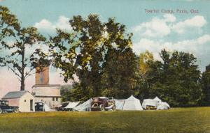 PARIS , Ontario , 1927 ; Tourist Camp