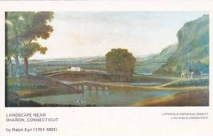 Landscape Near Sharon, Connecticut, 1940-1960s by Ralph Earl (1751-1801)