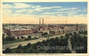 Good Year Tires, Akron, OH, USA Factory, Factories Unused
