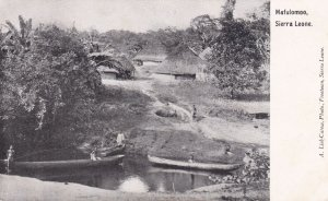 SIERRA LEONE, Africa, 00-10s; Village of Mafulomoo