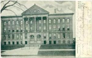 Free Academy , Utica , New York, Pre-1907