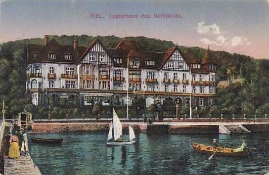 Germany Kiel Logierhaus des Yachtklubs