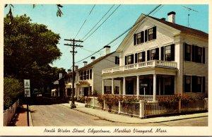 Massachusetts Martha's Vineyard Edgartown North Water Street