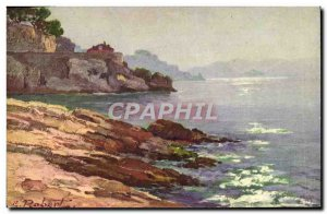 Old Postcard The Corniche