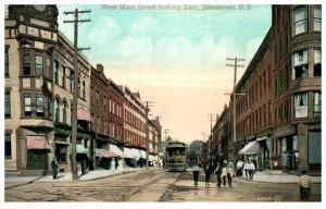 New York   Johnstown   West Main Street , Trolley