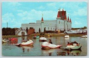 Lancaster PA~Kiddy Fish Boat Rides~Dutch Wonderland~Castle Gift Shop~1960s Cars