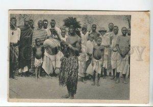 438896 AFRICA Portuguese Mozambique national dance Tete Vintage postcard
