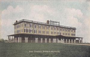 BRADDOCK HEIGHTS, Maryland, 00-10s; Hotel Braddock