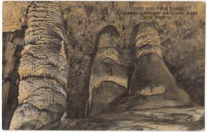 Giant and Twin Domes, Carlsbad Caverns National Park, New Mexico, 1952 used