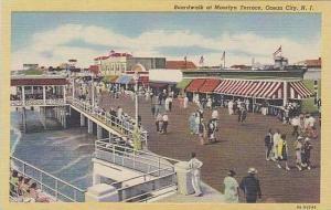 New Jesrey Ocean City Boardwalk At Moorlyn Terrace
