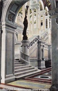 The Grand Stairway Library Of Congress Washington DC