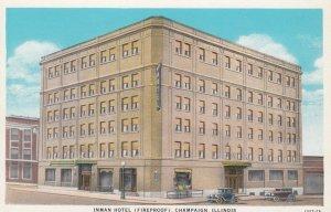 CHAMPAIGN , Illinois , 1910s ; Inman Hotel
