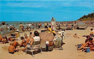 Chesterton~Indiana Dunes State Park~Lake Michigan~Lifeguard Stand~1960s