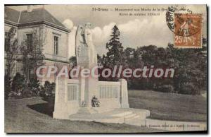 Old Postcard SAINT-BRIEUC monument